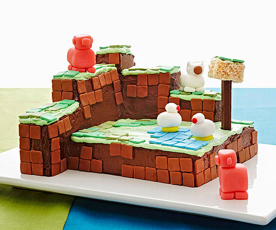 Block Party Cake