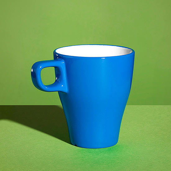 Lift a cup without using your hands