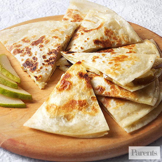 Cheesy Pear Quesadilla