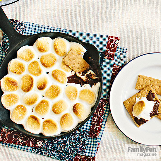 The Grub: Skillet S'mores