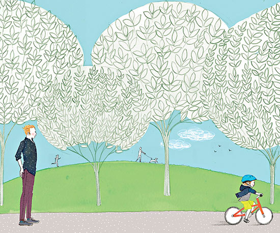 What I Learned While Teaching My Son to Ride a Bike