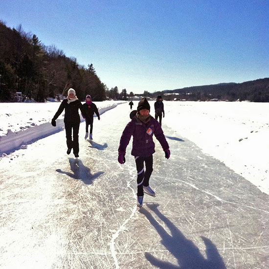 Lake Morey Skate Trail