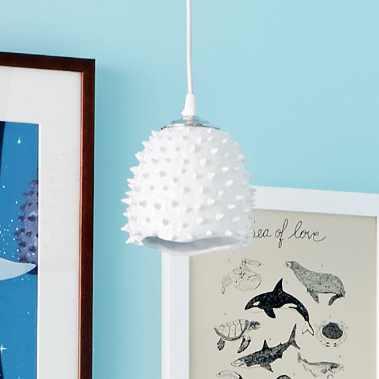 Young House Love – Spiky Ceiling Light Fixture