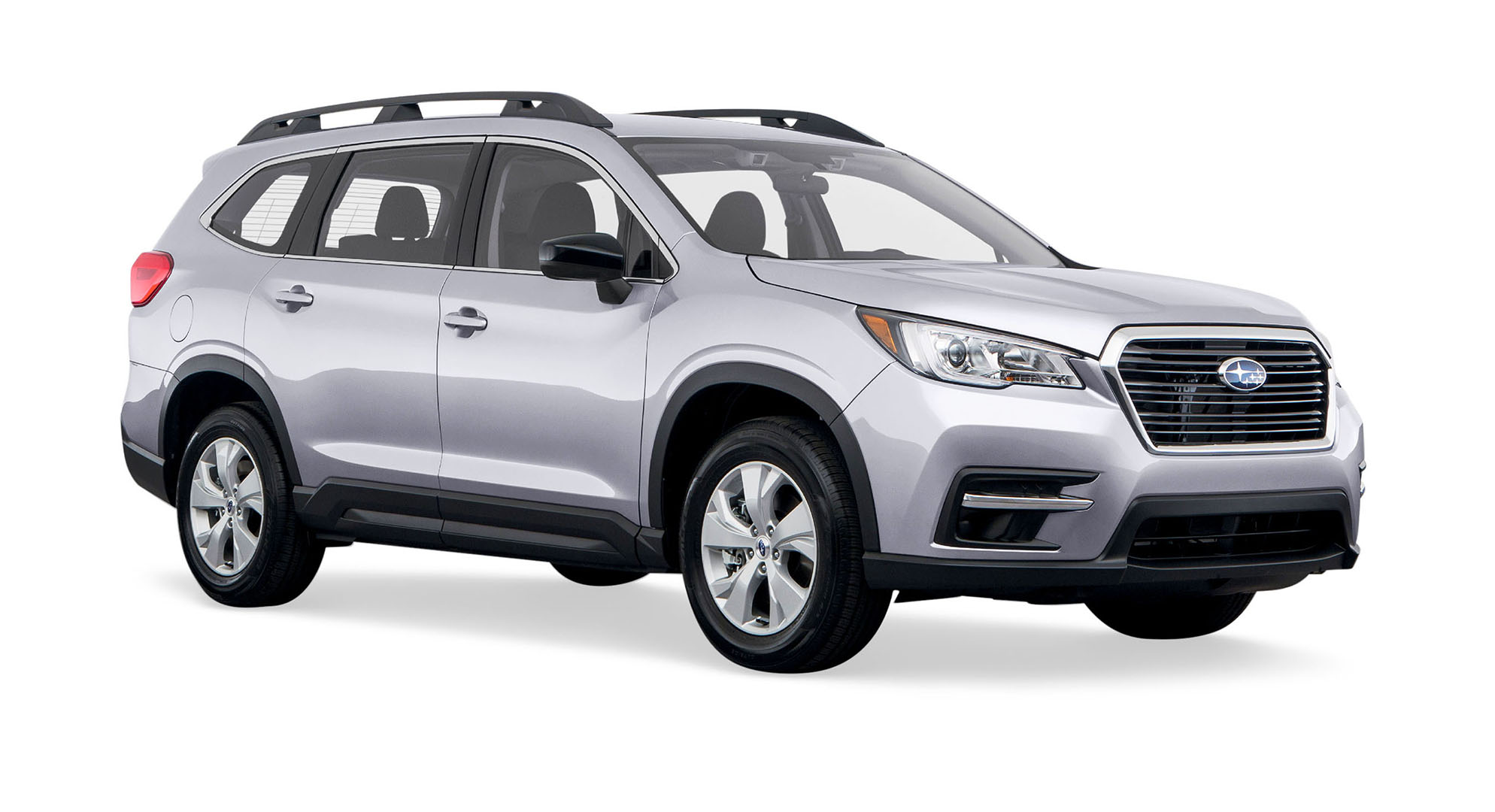 silver subaru ascent sport utility vehicle