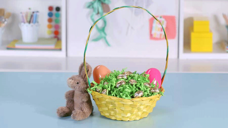 How to Craft a Surprise Easter Basket