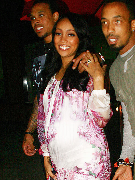 Monica Brown pregnant