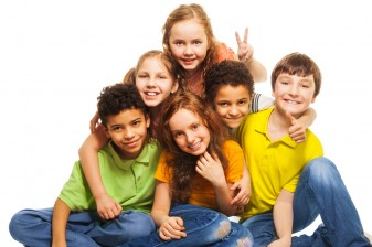 group of 4th graders 36331