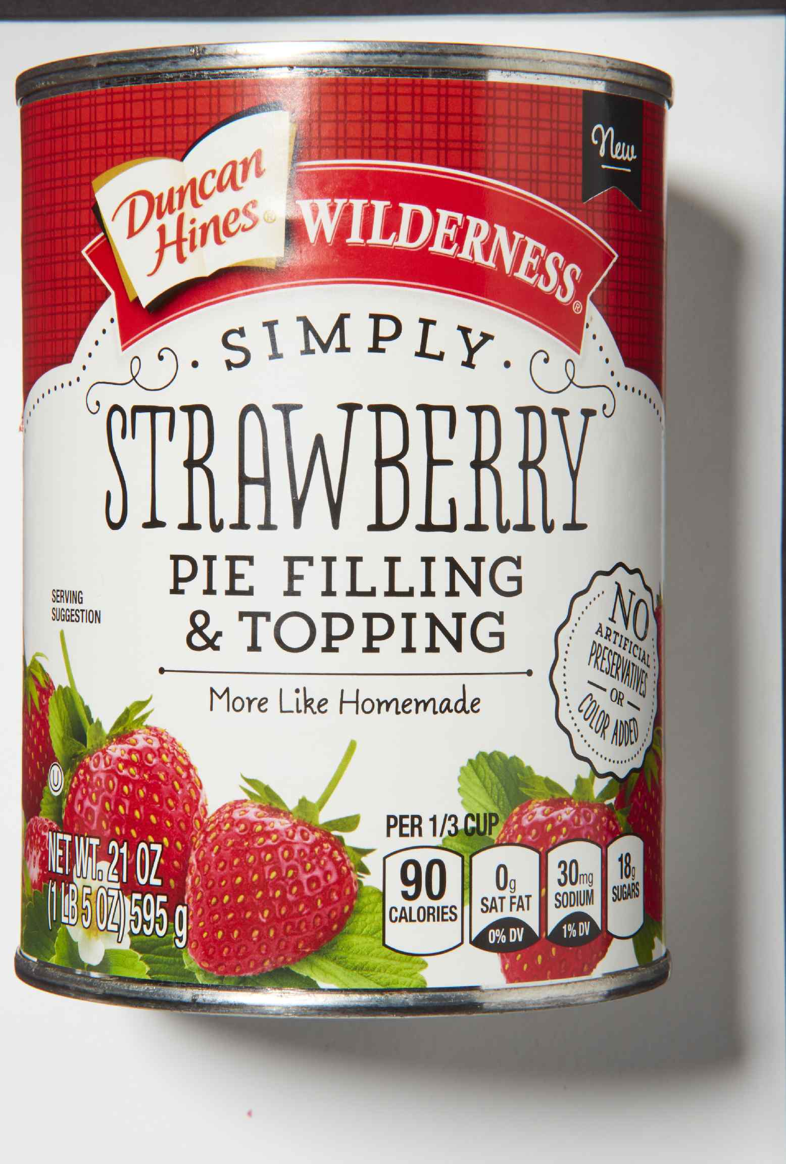 Duncan Hines Wilderness Simply Strawberry Pie Filling & Topping