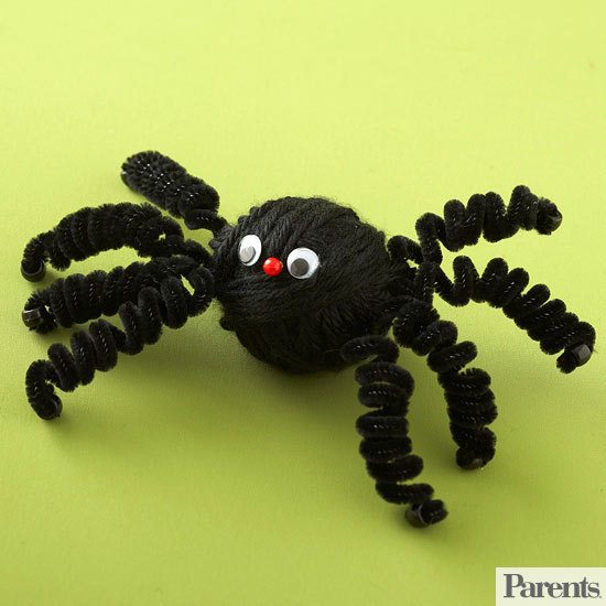 Yarn-Wrapped Spider