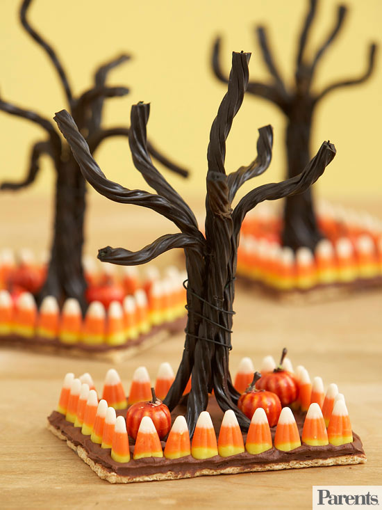 Haunted Forest Centerpiece