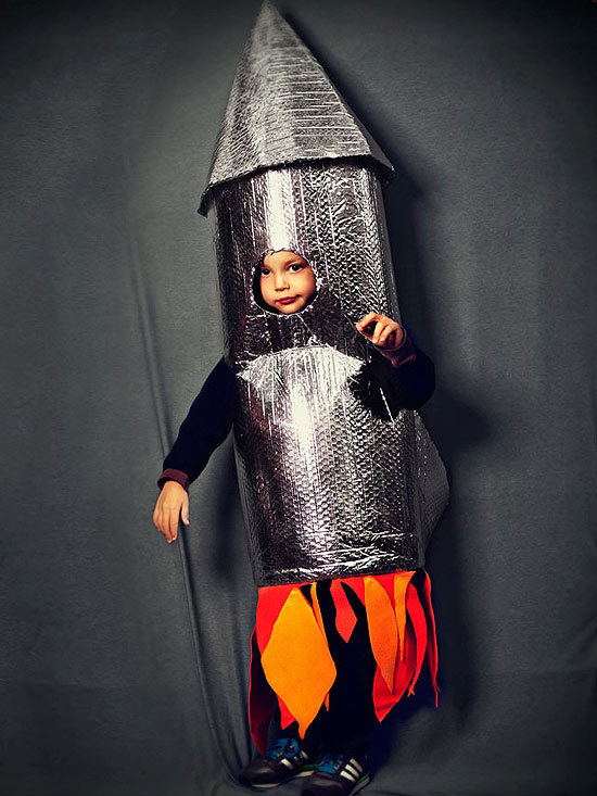 Rocket Man Costume