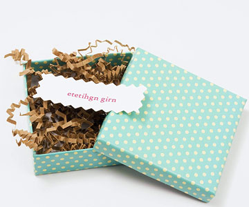 Small Packages baby shower game