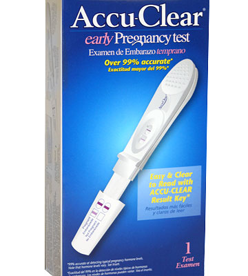 Accu-Clear Early Pregnancy Test
