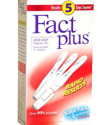 Fact Plus One-Step Pregnancy Test