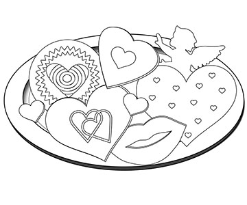 Adult Coloring Sheets Valentines Day Coloring Sheets Adult ... | 300x360