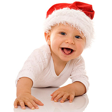 10 Ways to Preserve Baby's First Christmas