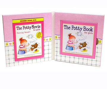 The Deluxe Potty Book and DVD for Girls (and Boys)