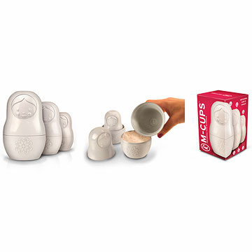Decorative measuring cups for cooking