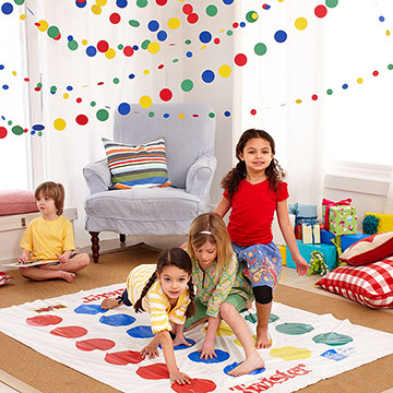 Twister Game and Kids