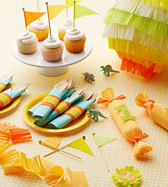 crepe party decorations