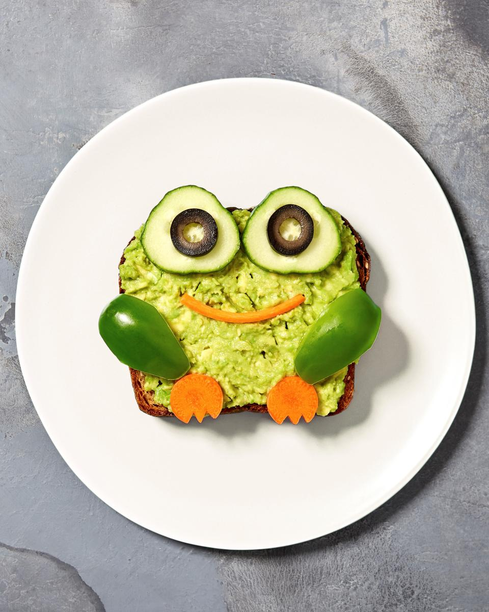 Frog Avocado Toast Treat of the Month