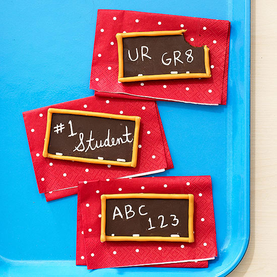 Back to School Chocolate Boards
