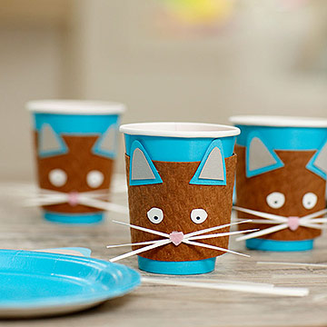 Cat Party Cups