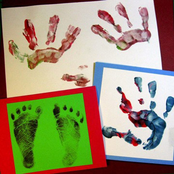 Tiny foot & handprints