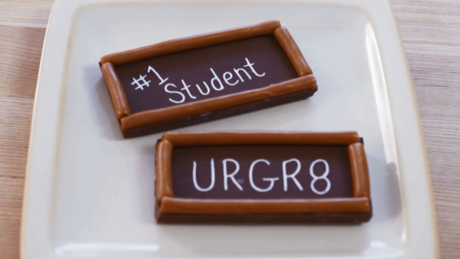 Back-to-school Choc-Boards