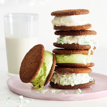 Gingerbread Ice Cream Sandwiches