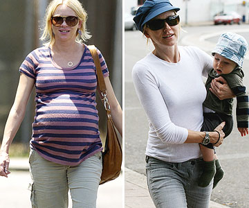 Celebrity Secrets To Losing Baby Weight Parents