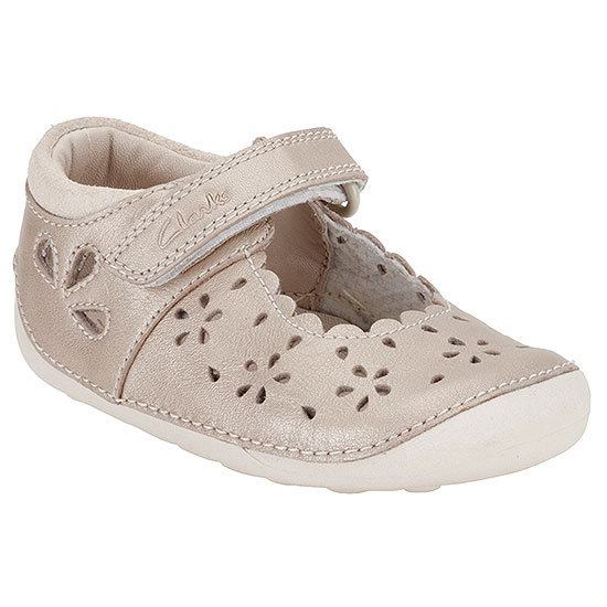 Clarks baby girl shoes