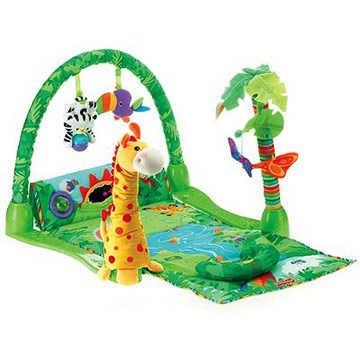 Fisher Price Rainforest Musical Gym