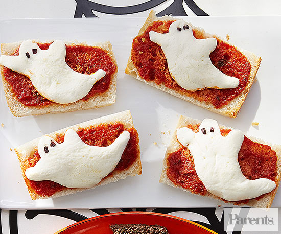 Pizza ghosts