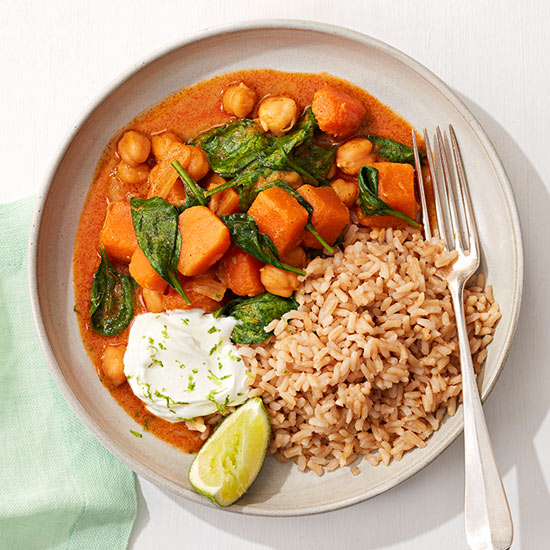Chickpea and Squash Curry recipe image