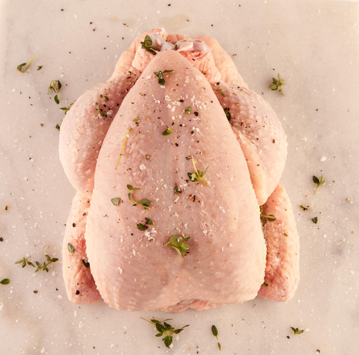 Turkey with Salt and Herbs