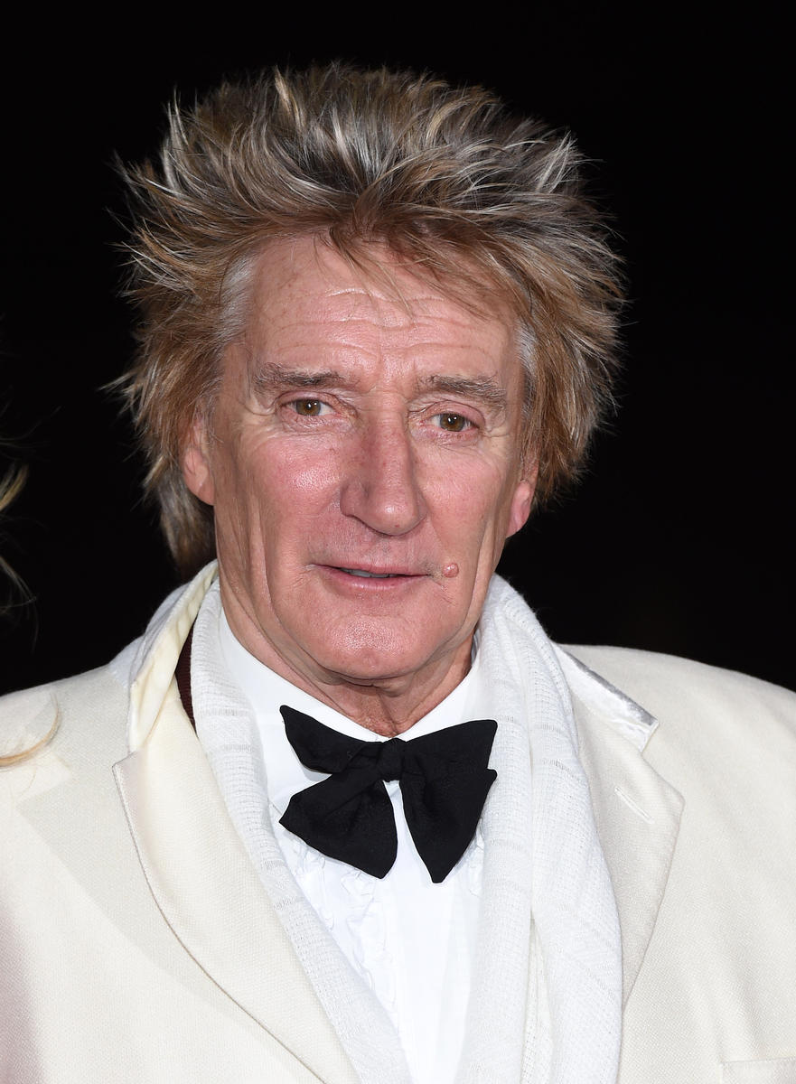 Rod Stewart Headshot