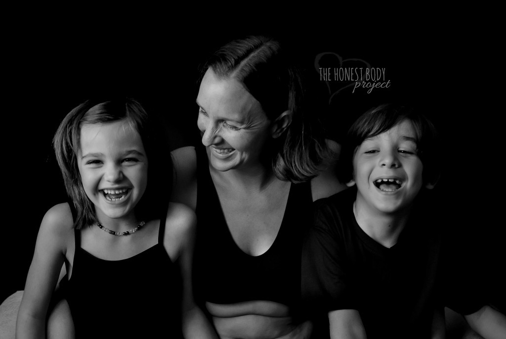 honest body project special needs photo of mother with two children
