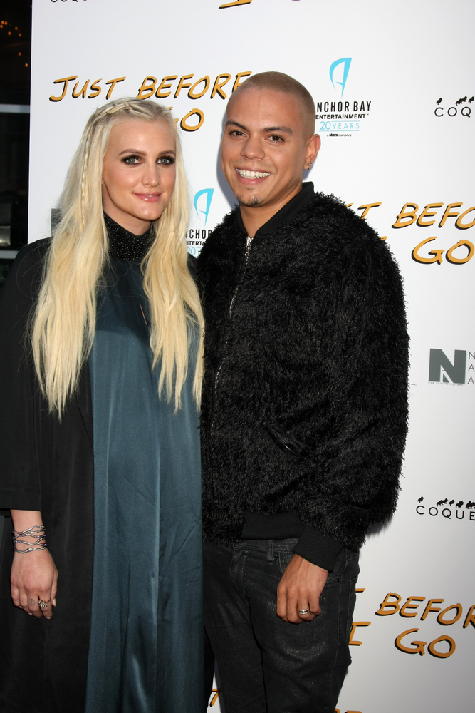 Ashlee Simpson and husband