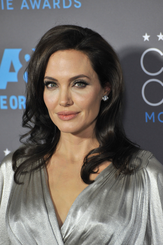Angelina Jolie Headshot 2015
