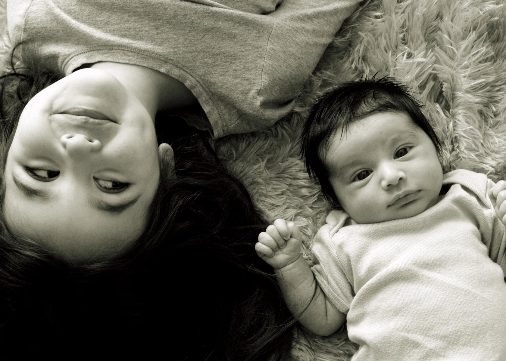 Parents Photoshoot With Baby
