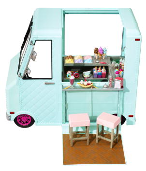 2016 Toys of the Year Our Generation Sweet Stop Ice Cream Truck