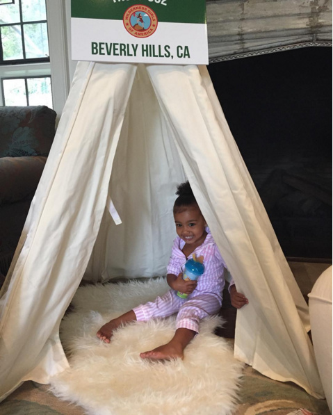 North at Kim's Baby Shower