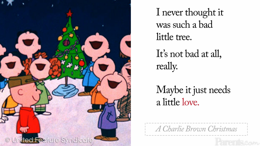 Charlie Brown Christmas Quotes.Heartwarming Holiday Movie Quotes To Chase The Bah Humbugs