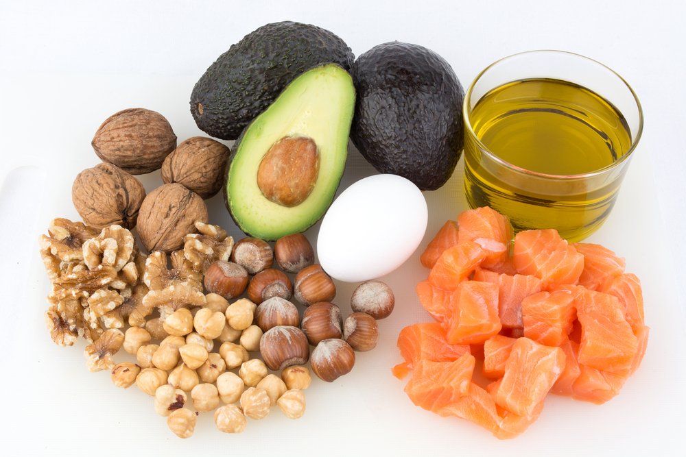 Different types of healthy fats