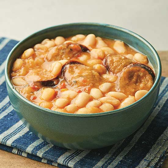 Smoked Sausage and Beans recipe image
