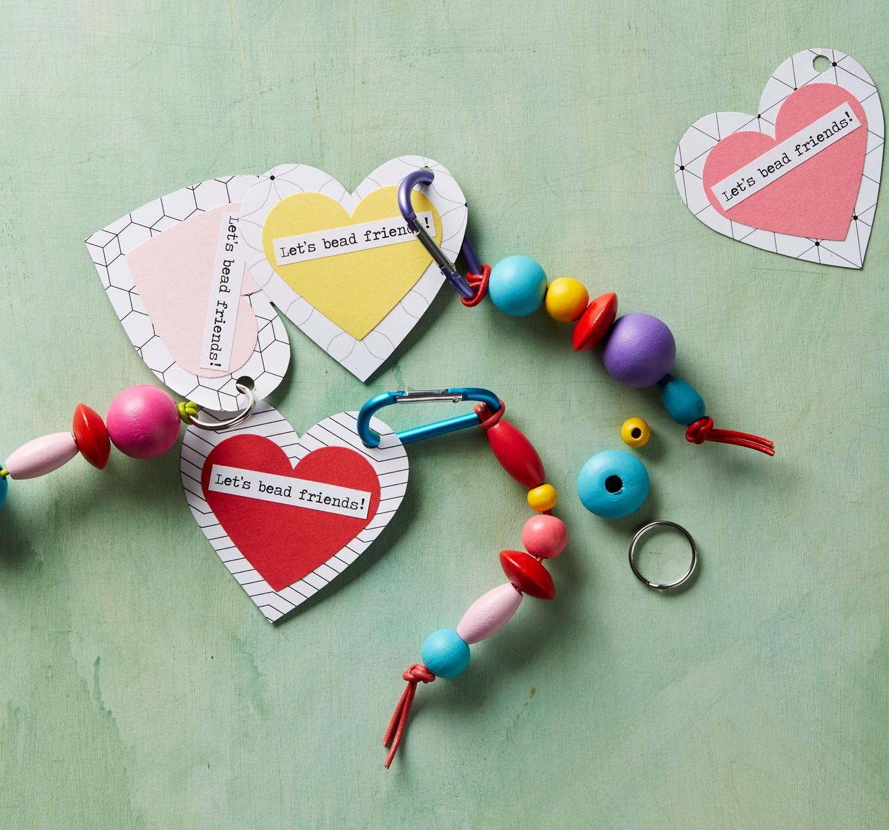No Candy Valentine Backpack Charms