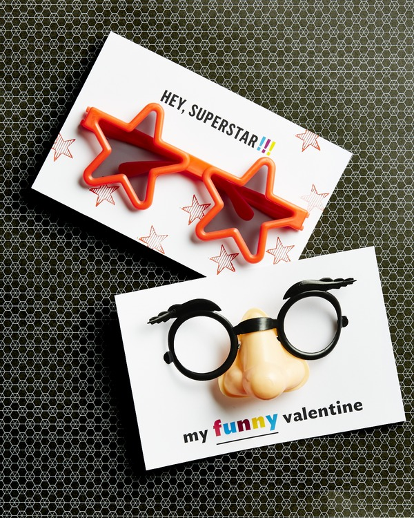 silly glasses valentine
