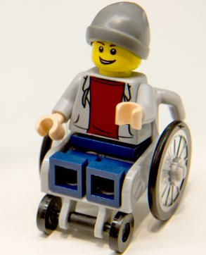 Check Out Lego's Awesome New Minifigure in a Wheelchair!
