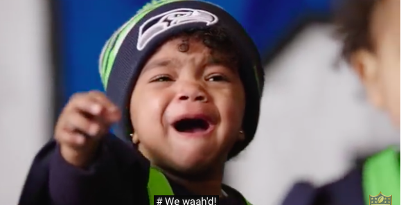 tiny super bowl baby